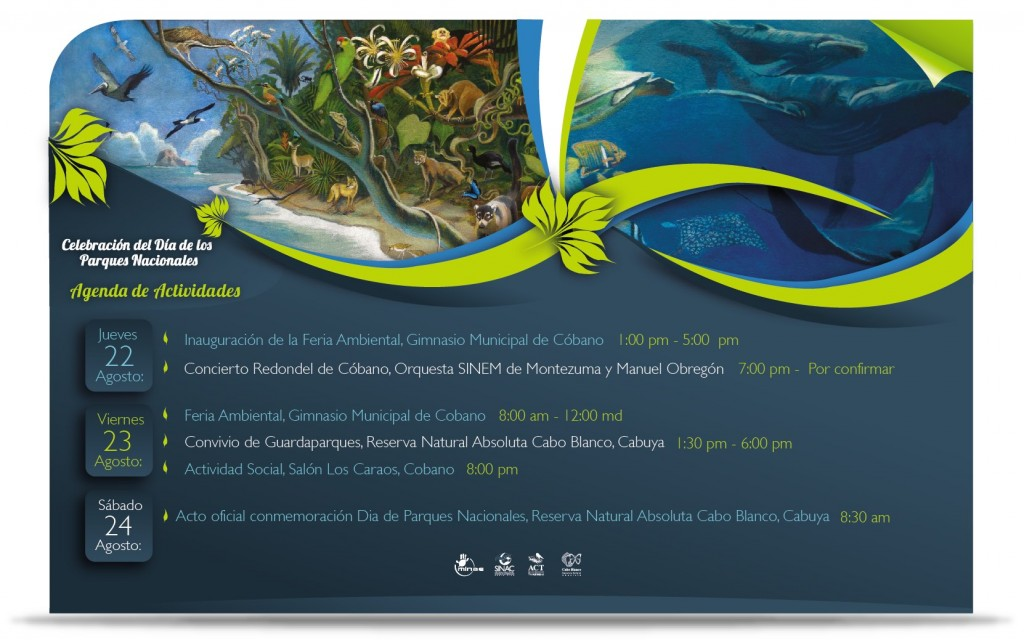 Agenda Dia de Parques Nacionales